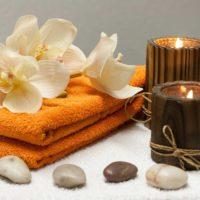 Massagem relaxante e bem-estar