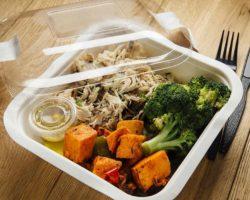 exemplo de uma refeição da dieta cetógenica