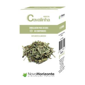 Cavalinha 500 mg 60 comprimidos - Novo Horizonte