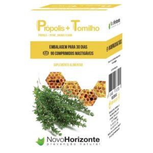 Própolis + Tomilho 90 comprimidos - Novo Horizonte