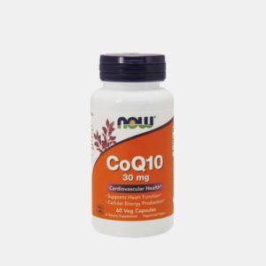 COQ10 30mg 60 CAPSULAS NOW